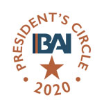Business Alliance Inc 2020 President's Circle Award